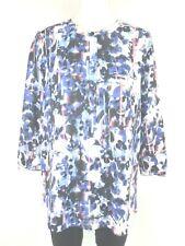 NYDJ túnica para mujer blusa talla 36 S VARIOS COLORES floral