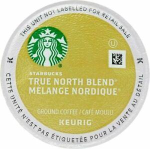 Starbucks 100 K-Cups True North Blend Veranda Coffee EXP Below