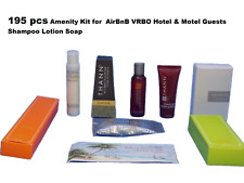Amenity Kit (195 pcs) for  AirBnB VRBO Hotel & Motel Guests Shampoo Lotion Soap