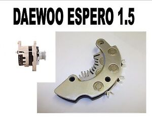DAEWOO ESPERO 1.5 16V BERLINA 1995 1996 - 99 NEW ALTERNATOR RECTIFIER