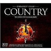 GREATEST EVER COUNTRY - V/A - CD - BOX SET - **BRAND NEW/STILL SEALED**