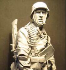 1/16 Resin Kit German Soldier Figure Unassembled, Unpainted (no base)
