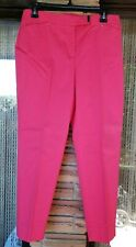 "Jones New York Signature Womens Size 8P Bright Coral Stretch Pants - 30"" x 25"""