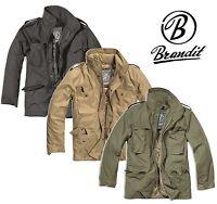 Coupe vent homme parka hiver veste style militaire vintage Brandit M65