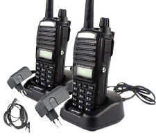 2x Baofeng UV82 VHF UHF Dual Band MHz Ham Two way Radio Walkie Talkie Interphone