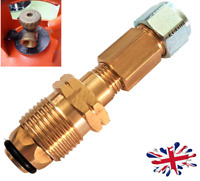 Propane gas bottle Cylinder UK POL SWIVEL Adapter to 8mm Poly Pipe flexi  FARO