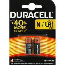 2 x DURACELL N MN9100 1.5V Alkaline Batteries LR1 E90 AM5 KN Longest Expiry