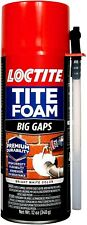 Loctite 2378565 Tite Foam Big Gaps, Foam sealant, White, 12 Oz.