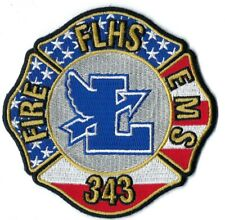 UNKNOWN FIRE DEPARTMENT FLHS FIRE EMS 343 PATCH