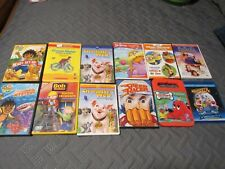 Kids Movies on DVD - Lot of 12- Thomas, Muppets, Clifford, Bob Builder, Curious