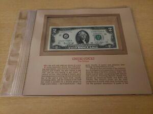 🇺🇸 Most Treasured Notes United States 2 Dollars UNC Kansas City  1976  52121-3