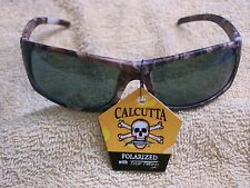 CALCUTTA PROWLER CAMO CAMOFLAGUE FRAME GREY POLARIZED LENS SUNGLASSES