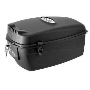M-Wave Fahrradkoffer/-box Top Case 17 Liter abschließbar für Gepäckträger