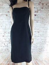 Dolce & Gabbana Women's Black Slip Dress S44 US Size 10 the ultimate party dress