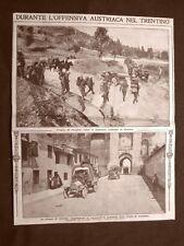 Austriaci in Trentino nel 1916 Truppe presso Arsiero WW1 Prima guerra mondiale