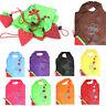 Faltbare Einkaufstasche Erdbeere Einkaufsbeutel Tragetasche Shopper Tasche N8F4