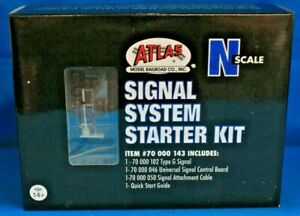 N Scale - ATLAS 70 000 143 SIGNAL SYSTEM STARTER SET - Signal, Cable & Board
