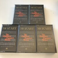 Mozart The Soprano Concert Arias Time Life 5 Audio Cassette Tapes #3 Open HG44