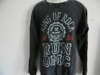"*NEW* AMPLIFIED RUN DMC KING OF ROCK 1985 MENS SWEATSHIRT XL 48"" 100% COTTON"
