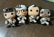 Funko Pop 2014 SDCC Exclusive Ghostbusters 30th Anniversary 4 Pack OOB
