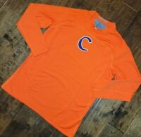 Nike Pro Vapor Clemson TIGERS Collegiate Dri-Fit Hyperwarm Shirt Men's XL NEW !