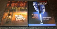 MOJAVE PHONE BOOTH & DOUBLE JEOPARDY-2 movies-ANNABETH GISH, ASHLEY JUDD
