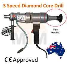 Hand Held 3 Speed Diamond Core Drill with Handle