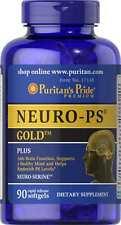 Neuro-ps Oro X 90 Cápsulas cerebro sano y la memoria ** increíble Precio **