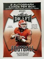 Leaf NFL Draft Football Cards Blaster Box (Factory Sealed, 2 Autographs Per Box)
