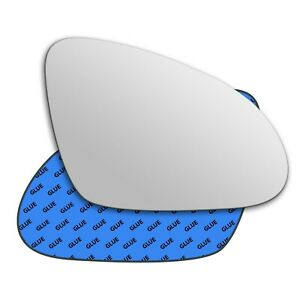 Right wing adhesive mirror glass for Buick Verano 2012-2017 367RS