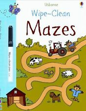 Wipe-Clean Mazes  Wipe-Clean Books