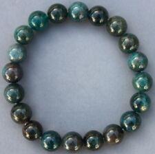 """Bracelet Apatite bleue 10 mm """"Large"""""""
