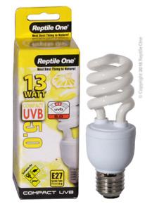 Reptile One 13w UVB 5.0 Compact Reptile Globe Light E27