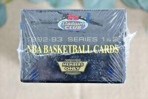 1992-93 Stadium Club Basketball Members Only FACTORY SEALED Set Beam Team