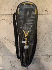 Prince Force 3 John White Squash Racquet and ball set- Brand New