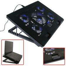 "Laptop Cooler Cooling Pad Stand Base 5 Fan USB Powered For 12"" - 17"" Notebook"