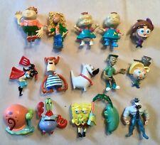 Spongebob Rugrats Fairly Odd Parents Nickelodeon Vending Machine Figure Set