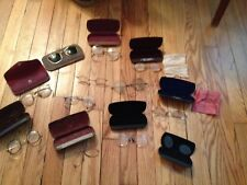 Vintage & Antique Eyeglasses & Pince Nez Lot Of 11