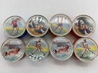 Pencil Sharpener Toys lot of 8 Dexterity Game Vintage Vending Gumball HONG KONG