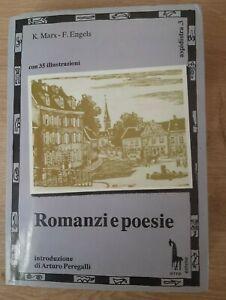 Marx - Engels   ROMANZI E POESIE - I ED. EMME 1991
