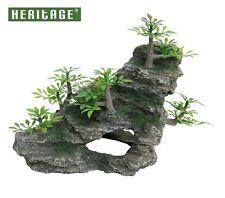 ✔ Heritage HB013 Aquarium Fish Tank Rock Formation Cave Ornament Decoration Hide