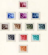 D90-101 1982 Postage Due Set UNMOUNTED MINT