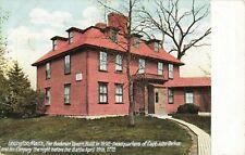 Postcard Buckman Tavern Built 1692 Lexington Massachusetts