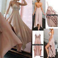 Vestito Donna Cerimonia Asimmetrico Pailettes su Top Woman Party Dress 110310