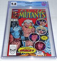 New Mutants #87 CGC Universal Grade Comic 9.8 1st Cable Appearance of Marvel POW