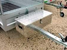 Alu Riffelblech Alubox Staubox Deichselbox Werkzeugkasten für PKW Anhänger groß