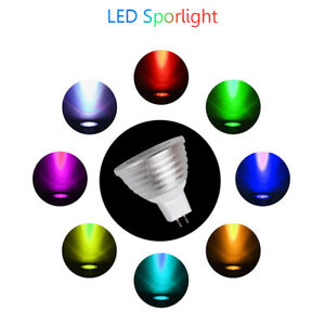 E27 E14 MR16 GU10 85-265V 12V LED RGB Bulb Lamp LED Changeable Magic 16 Colors