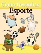 Como Desenhar Comics: Esporte by Amit Offir (2013, Paperback)
