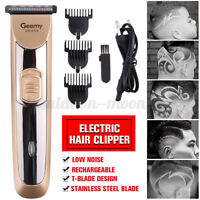 Geemy Professional Mens Hair Clippers Cordless Electric Beard Trimmer Shaver Set