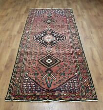 OLD WOOL HAND MADE  ORIENTAL FLORAL ALL  AREAS RUG CARPET 280 X 97 CM